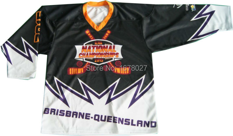 Unique Cool Design Custom Ice Hockey Jersey With Numbers and Names Teams Shirts(China (Mainland))