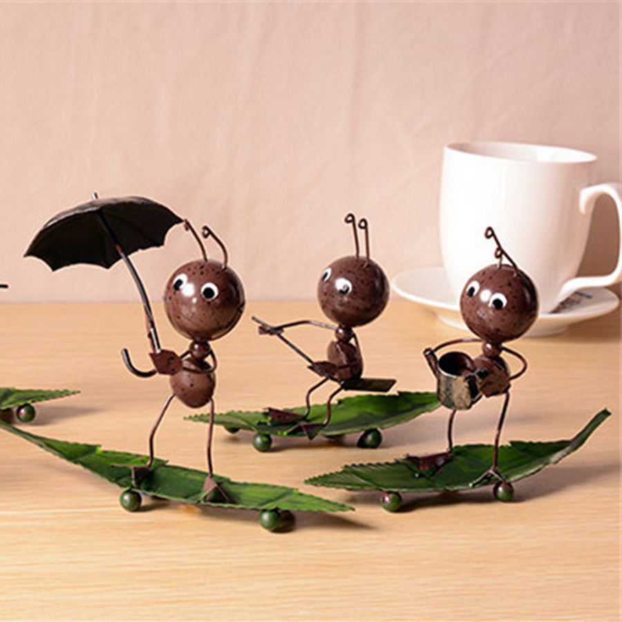 Creative home decorations ornaments handmade wrought iron for Home decorations gifts