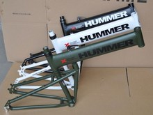 Humvees channel mountain bike frame hummer folding frame aluminum alloy frame(China (Mainland))