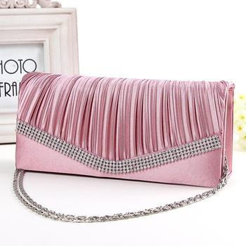 Women's Ruched Clutch