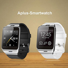 Aplus GV18 Bluetooth Smart watch GSM NFC SIM card for iPhone6 Samsung Android Phone work with Facebook Whatsapp twitter