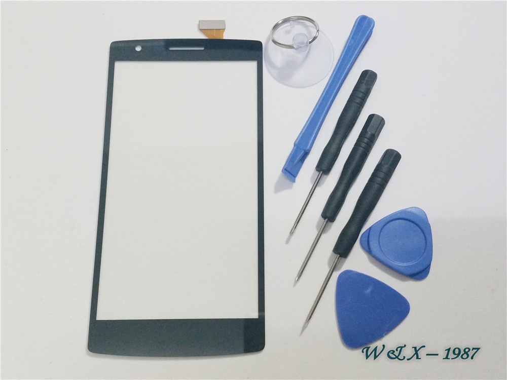 1 PCS Black Original Replacement For Oneplus One Touch Digitizer Lcd Screen Glass With Flex Cable Free Shipping