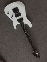 2016 new + factory + 24 frets ESP custom shop electric guitar white ESP guitar with Kahler bridge and EMG pickups Free Shipping(China (Mainland))