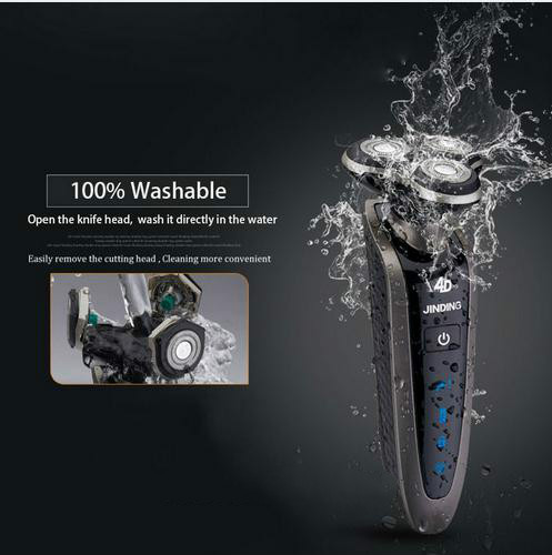 2017 New Original Men Shaving Machine 3D Waterproof Rechargeable Mens Electric Shaver Three Head For Philips Shaver Razor US-78