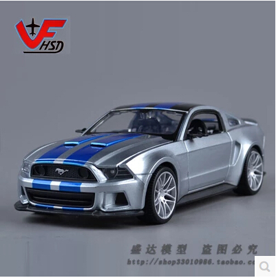 Ford Mustang GT 1:24 Maisto Need for Speed Simulation Car Model Alloy car models genuine Fast & Furious Collectables Toy(China (Mainland))