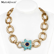 New fashion vintage jewellery Thick chain chunky alloy max colares Pendant hip hop big enamel frog statement necklace for women(China (Mainland))
