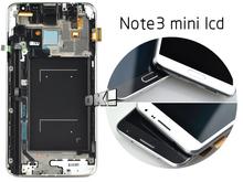 Серый цветной жк-дисплей сенсорный экран панели планшета в сборе с рамкой для Samsung примечание 3 нео N7505