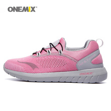 Free Woman Light Running Shoes For Women Run Breathable Athletic Trainers Pink Zapatillas Sports Shoe Outdoor Walking Sneakers