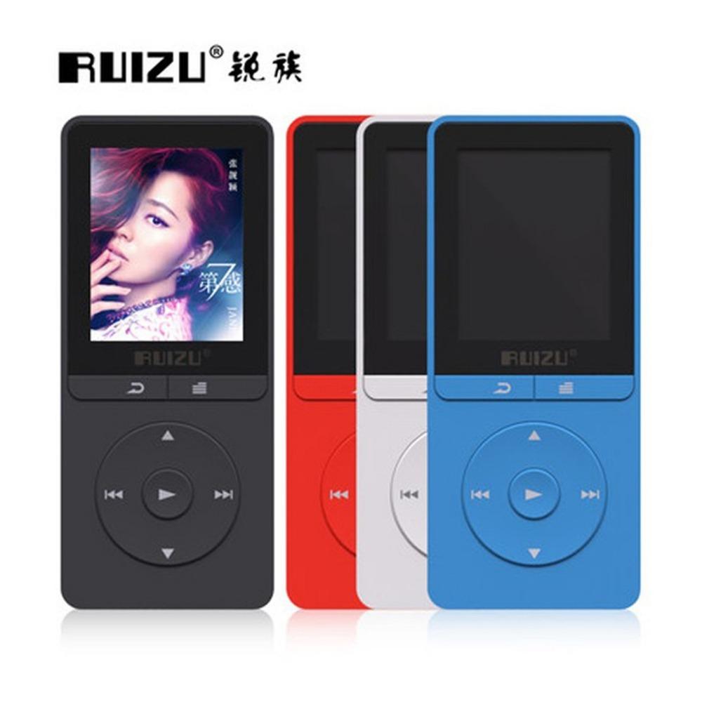 Ruizu X20 Portable Lossless Digital Sport Screen Hifi Audio Mp 3 Mini Music Mp3 Player FM Radio 8GB With Flac LCD Running WAV(China (Mainland))