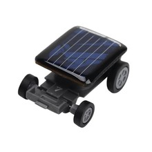 High Quality Smallest Mini Car Solar Power Toy Car Racer Educational Gadget Children Kid's Toys(China (Mainland))