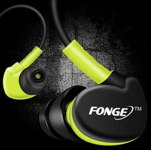 Anti-sweat Sports Running in-ear earphone Speaker for iphone samsung Super Bass Stereo 3.5mm Headphone Mic Hifi handfree headset