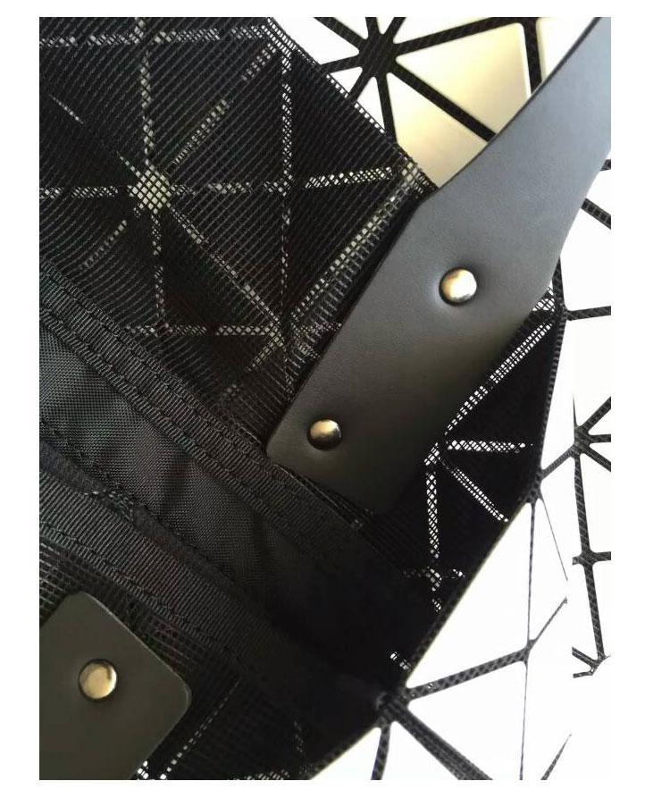 Women's Handbag 2015 Hot Fashion Japan style Same As BAOBAO Bag Top Quality Lattice Geometric Hand Bag 10*10 Lattice