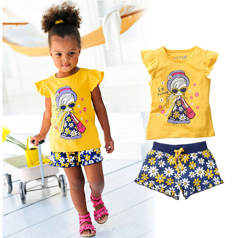 Clothes For Girls Lace Vest T-shirt Tutu Skirt Tracksuit For Girls Sport Suits Children Clothing Sets Kids Costume Baby Clothes 50% Off summer new arrival girls clothing set shirt+ jean kids girl clothes suits Boys clothing Sets.