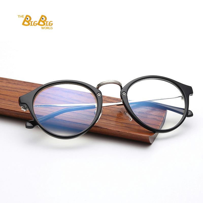 new design women computer frame glasses unisex plain eyewear anti radiation fatigue lunette de. Black Bedroom Furniture Sets. Home Design Ideas