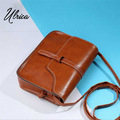 2017 Women bag Ladies Multi Color Leather Shoulder crossbody bags womens messenger handbags bolsa feminina para mujer Ulrica