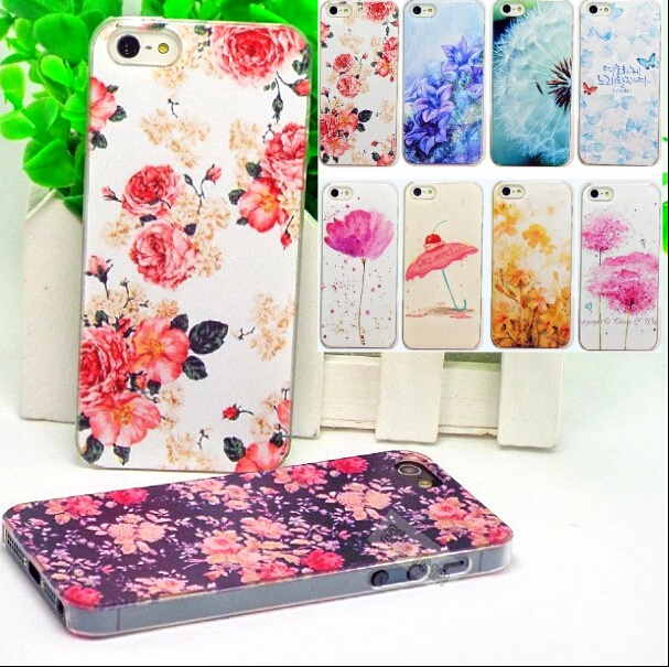 5/5S/SE Pattern Painted Lovely Cute Phone Hard Back Skin Cases iPhone 5 5S SE Case iphone5S Cover Shell - Mobile Accessories/Case And Mp3 Store store