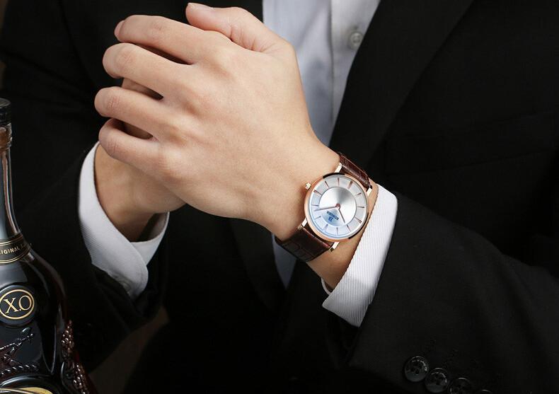 Новые Марка Relogio Feminino Бингер Часы Женские Кожаные Часы Дамы Мода Повседневная Золотые Часы Кварцевые Наручные Женские Часы