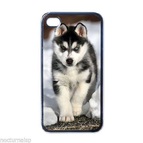 NEW 4 4S Hard Case Cover Siberian Husky Puppy Free shipping(China (Mainland))