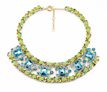 wholesale green necklace