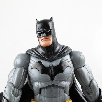 The Dark Knight New Batman DC Universe Arkham City Legacy Gray Action Figure toys