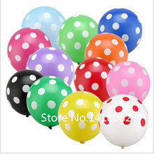 """Buy 12"""" 50pcs Latex Polka Dot Balloon 18 colors Party Wedding Decoration Thicken Birthday Party Decor globos Helium balloons for $5.98 in AliExpress store"""