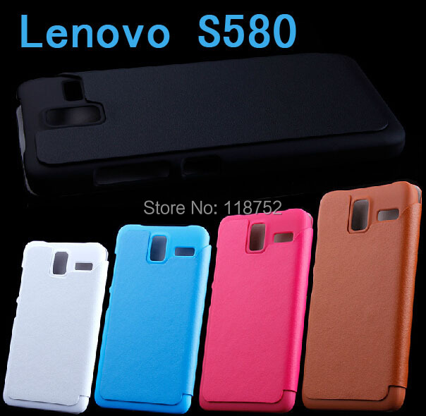 Fashion Flip Leather case, Boso New Case Lenovo S580 Retailed package - AIQIYI High Technology Co.,Ltd. store