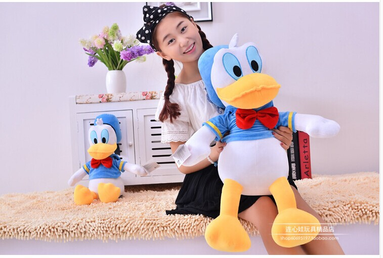 high quality plush duck  toy lovely cartoon donald duck doll birthday gift about 65cm<br><br>Aliexpress