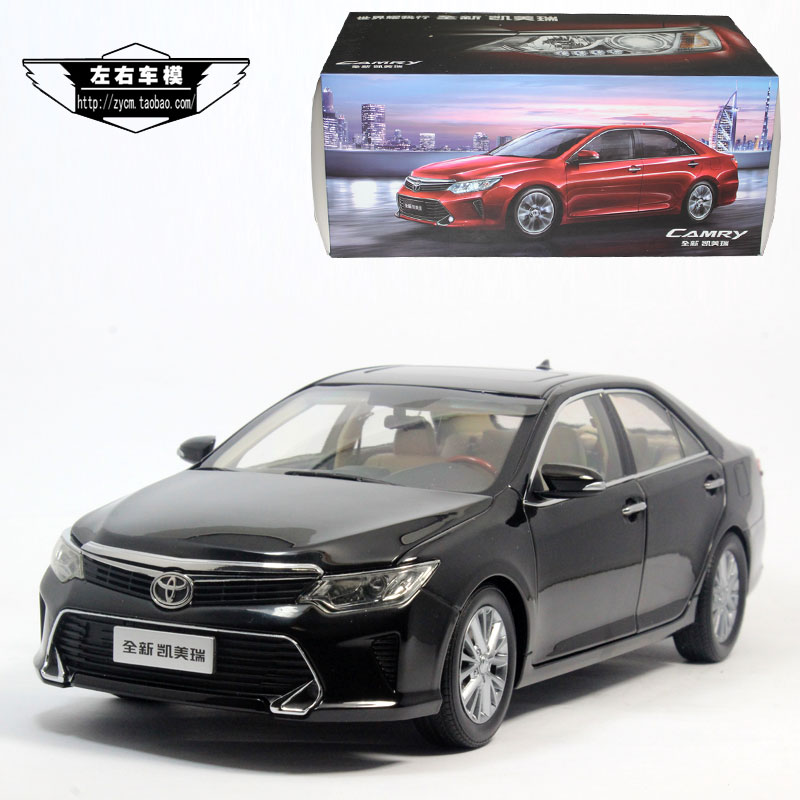 toyota original 1 18 toyoda kamimizu 2015 new camry camry car model in diecasts toy vehicles. Black Bedroom Furniture Sets. Home Design Ideas