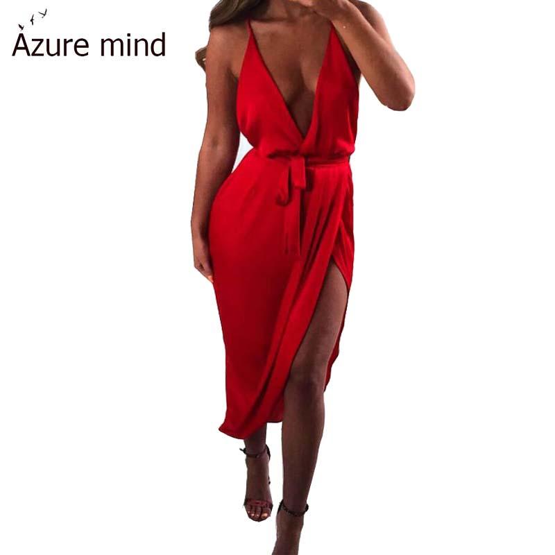 Vestidos 2016 Women red bandage dress sexy spaghetti strrap v neck night club dresses a line summer sashes dress plus size(China (Mainland))