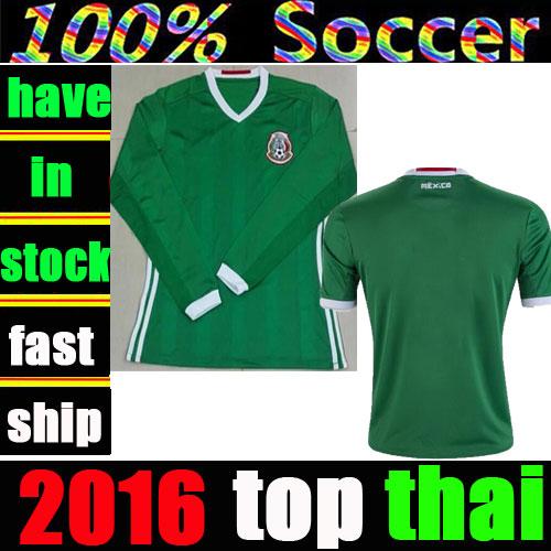 mexico soccer jerseys 16 17 Euro cup survetement football shirts 2017 mexican top thai C.VELA M.LAYUN camisa de futebol uniforms(China (Mainland))