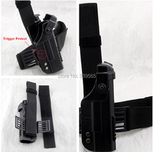 High Quality Double Security Tactical Military Glock Leg holster High quality Adjustable belt Black or Sand Color