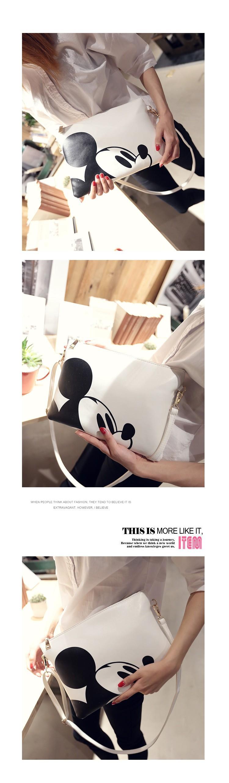 Bolsa De Ombro Hello Kitty : Women hello kitty messenger bags minnie mickey bag leather