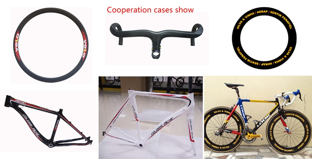 carbon bike wheels rims frames productions show cases