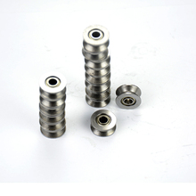 20pcs 624VV V V624ZZ Groove Sealed Ball Bearings V Groove 4 X 13 X 6mm 2~2.5mm Deep(China (Mainland))