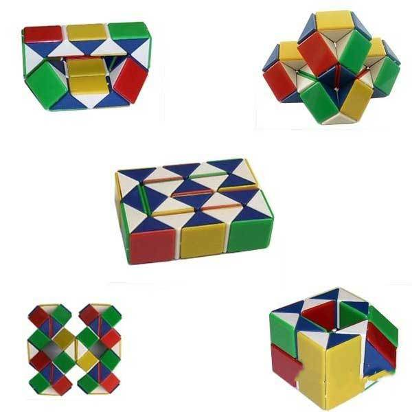 TinyGoods Magic Toy Game 3D Snake Cube Puzzle(China (Mainland))