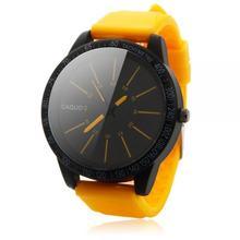 2016 Mens Fashion Stainless Steel Luxury Sport Analog Quartz Wrist Watch For Students Boys Men Watch As Gift RV