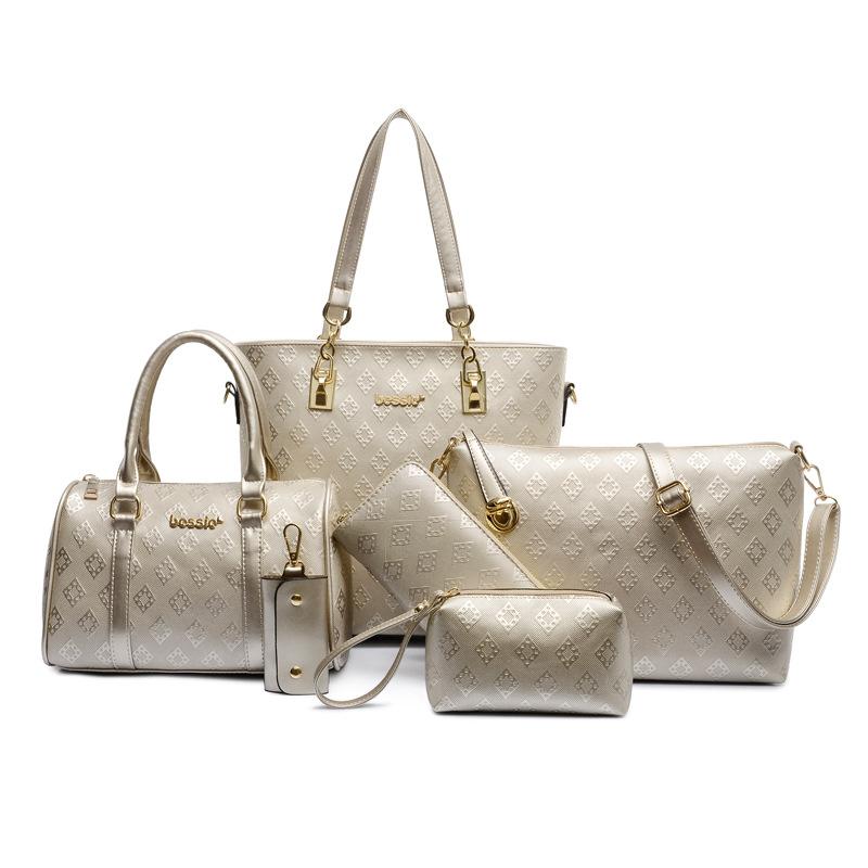 Bag women handbags new famous brand six-piece bags ladies portable shoulder bag high quality leather handbag women messenger bag<br><br>Aliexpress