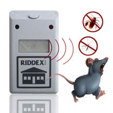 Electronic Ultrasonic Rat Mouse Repellent Anti Mosquito Repeller Rodent Pest Bug Reject Mole Repeller(China (Mainland))