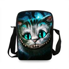 2017 новый стиль дети мини животных плеча сумки черный cat head плечо сумки для детей мальчики девочки школьные сумки(China)