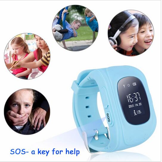 The Most Popular Q50 Smart Children Anti Lost GPS Tracker Watch For Kids SOS GSM Mobile Phone App For IOS & Android(China (Mainland))