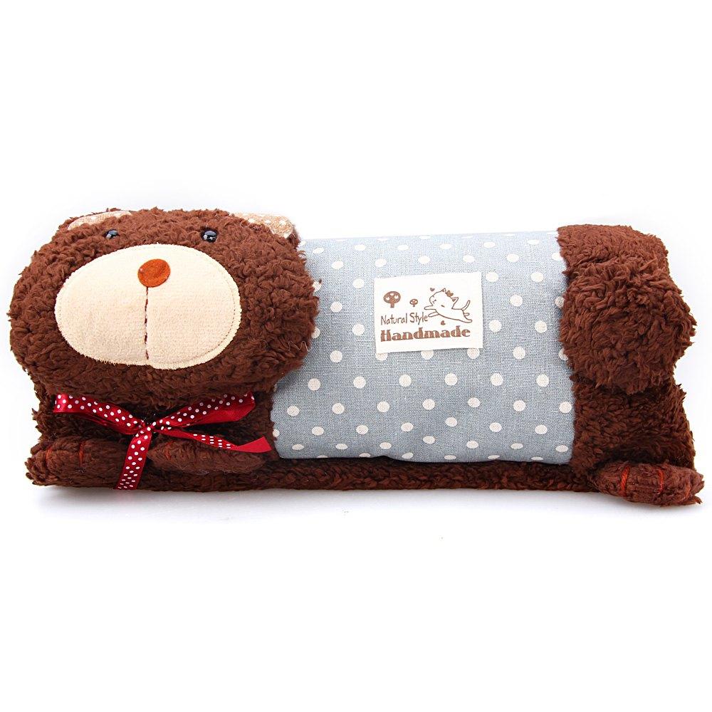 Soft Plush Stuffed Toy Cat Cushion Cute Cat Pattern Design Plush Stuffed Hand Warmer Pillow for Christmas Gift(China (Mainland))