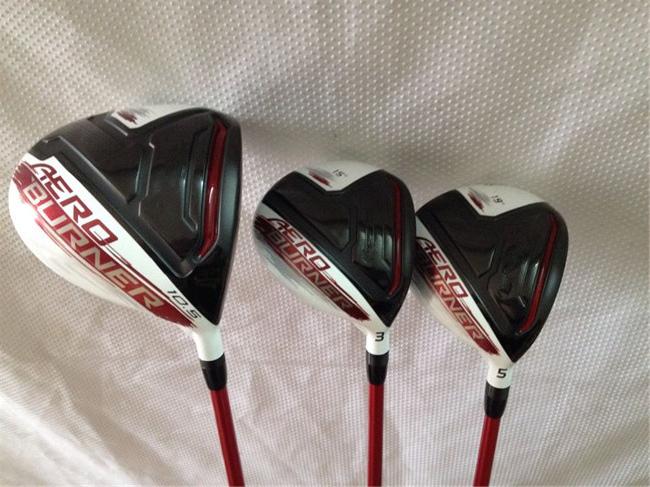 Right Hand TM AERO Woods AERO Golf Woods OEM Golf Clubs Driver + Fairway Woods Regular/Stiff Flex Graphite Shaft With Head Cover(China (Mainland))