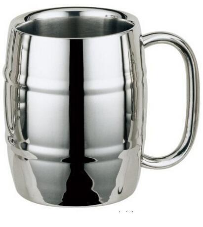 "old Dutch ""Keep-Kool"" Double wall stainless steel mug 500ml beer mug man mug(China (Mainland))"