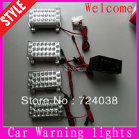 Hot sale 2x22 44 LED Strobe Light Flash Warning cauting light Car Truck Firemen lamp daytime running light Wholesale