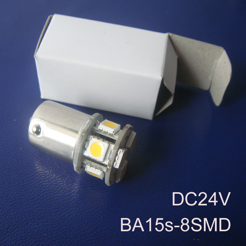 High quality 24V 1156 Freight Car Led Bulbs BA15s BAU15s P21W R5W PY21W 1141 Truck led lamps Turn Signals free shipping 2pcs/lot(China (Mainland))