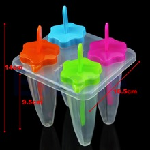 L1094Pcs Ice Cream Maker Cone Shape Popsicle Ice Pop Mold Frozen Food DIY Set Tool(China (Mainland))