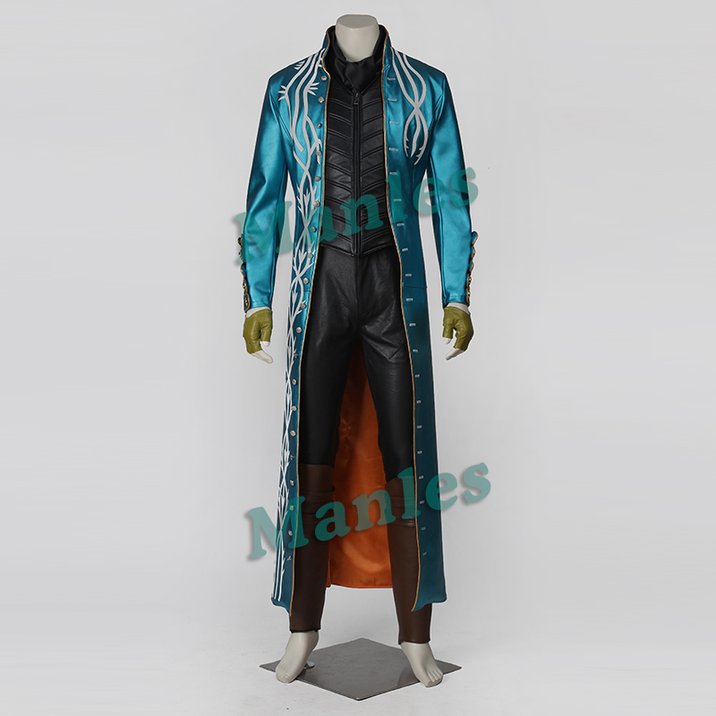 2015 Vergil Cosplay Costume Devil May Cry iii 3 Vergil costume Cosplay  Halloween costume for adultОдежда и ак�е��уары<br><br><br>Aliexpress
