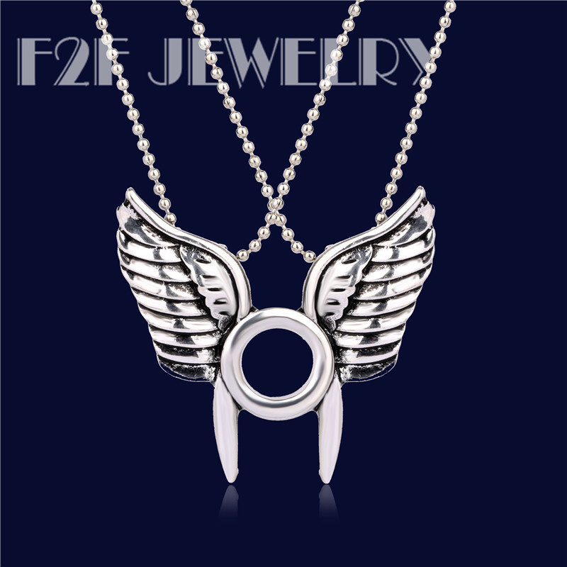 Battlestar Galactica Kara and Sam Forever Necklace XL582(China (Mainland))