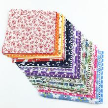 30 pieces/lot 10cmx10cm charm pack cotton fabric patchwork bundle fabrics tilda cloth sewing DIY tecido quilting(China (Mainland))