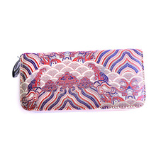 Women Wallets 2017 New Embroidery Pattern PU Leather Wallet Female Carteira Coin Purse Card Holder Clutch Phone Pocket Money Bag(China (Mainland))